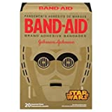 Band-Aid Star Wars Assorted Adhesive Bandages, 20 Count