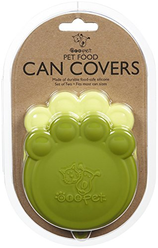 ORE Pet Green & Light Green Paw Can Cover Set (Best Dishwasher Buying Guide)