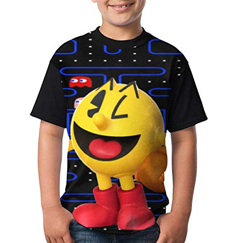 Happy Pac-Man Unisex Kids T-shirt for Boys, Girls, XS to XL