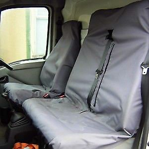 Renault Trafic 2007 DCIHeavy Duty Van Seat Covers Grey Protectors