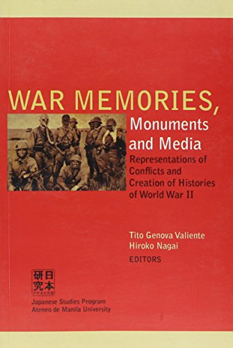 (War Memories, Monuments and Media: Representations of Conflicts and Creation of Histories of World War II)