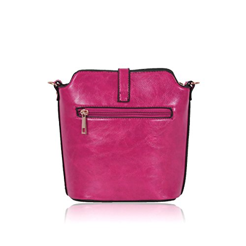 Fushia Simple Popular Turquoise Shoulder Shouder and Style and Effects Gessy Personal Going Out with for Female Belt Bag for Long xIUqxHYw