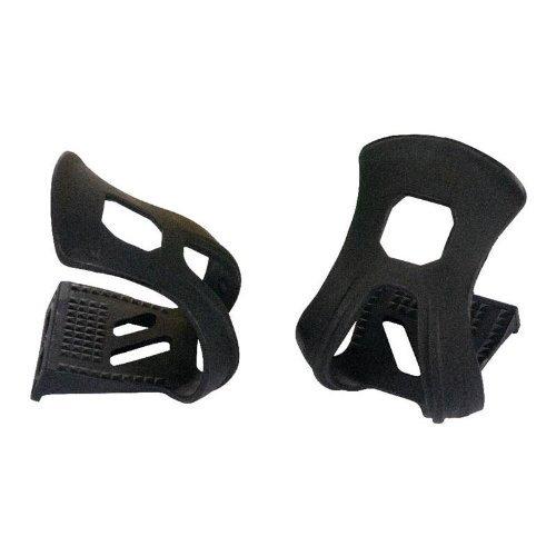 XLC Strapless Mini Toe Clips - Pair, ()