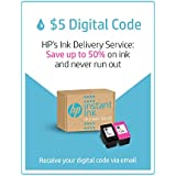 HP Instant Ink | $5 Prepaid Code | Ink Delivery Service for HP 62, HP 63, HP 64, HP 65, HP 902, HP 906, HP 910, HP 916, HP 950, HP 951, HP 952, HP 956, HP 962, HP 966