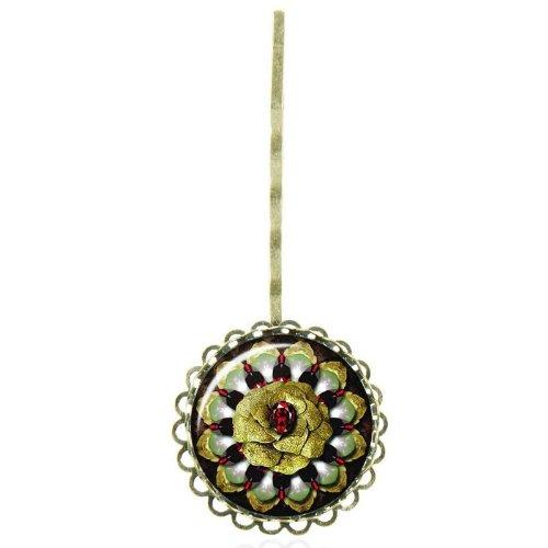 Epingle à cheveux au cabochon vintage au bijou ancien