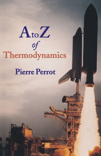 A to Z of Thermodynamics (Supplementary Series; 27)