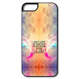 Aurora Words Pc Durable Case Cover For IPhone 5/5s by icecream design