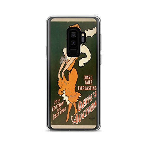 Vintage Auction Poster - Vintage poster - Devil's Auction 1181 - Samsung Galaxy S9 Plus Phone Case