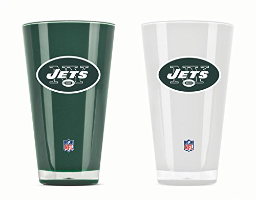 - NFL New York Jets 20oz Insulated Acrylic Tumbler Set of 2