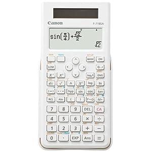 キヤノン 関数電卓 F-718SA-WH ホワイト