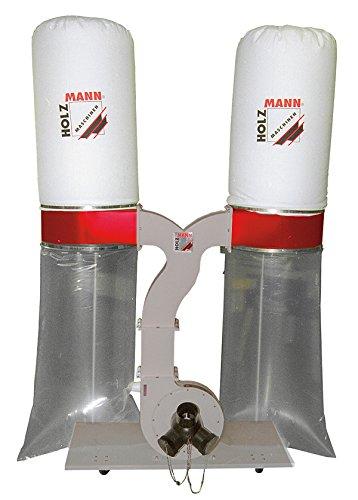 Aspirateur /à copeaux de bois 2 x 200 litres 230 V Holzmann 2200 W ABS3880-230V