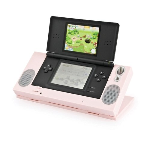 DS Lite Pink Speaker Stand