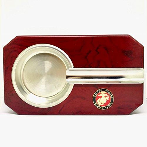 (US Marines Cigar Ashtray - Military Cigar Accessories)