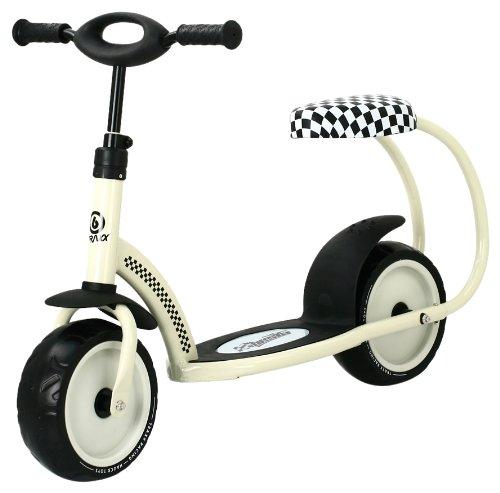 Hauck Besta Scooter - Cream (Retro Style Pedal Car)