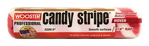 Wooster Candy - Wooster Candy Stripe Professional Roller Cover 1/4