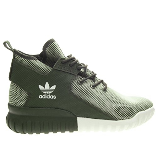 adidas Hombres Calzado / Zapatillas de deporte Tubular X Night oliva