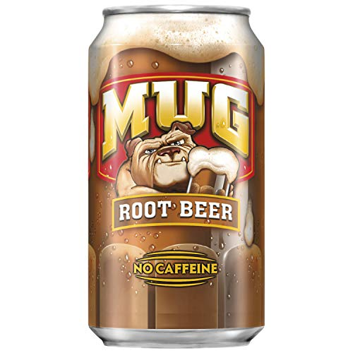 Mug Root Beer, 12 Fl Oz cans, Pack of 18 ()