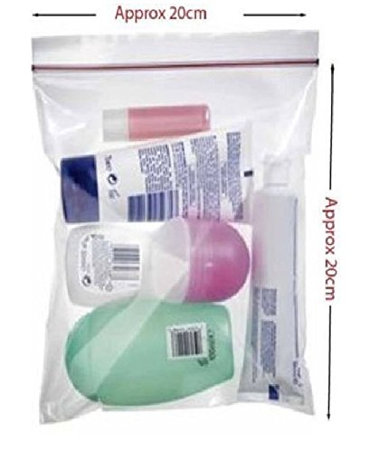 6 x aeropuerto seguridad equipaje de mano bolsas de líquido ...