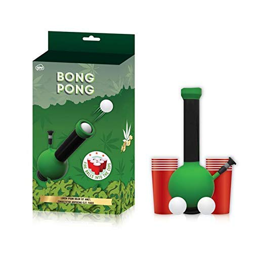 BONG PONG -  5 Badass Weed Gifts to Give to Your Favorite Stoner