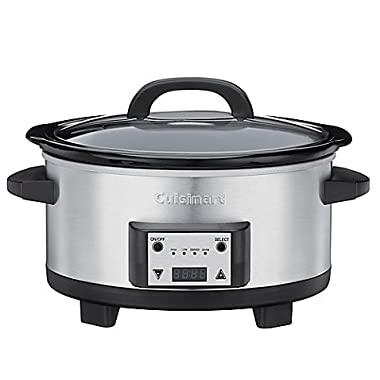 Cuisinart 6.5-Quart Programmable Slow Cooker, Makes Cooking Even Easier and Will Make Delicious Meals for Your Entire Family