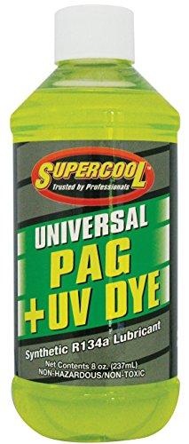 TSI Supercool 27880 Universal Synthetic PAG Oil with U/V Dye - 8 oz