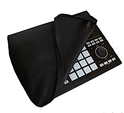 Protective Dust Cover for Native Instruments Maschine Studio [Antistatic, Water Resistant, Black Fabric] by DigitalDeckCovers