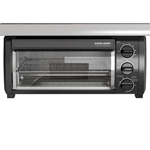 Black U0026 Decker TROS1500B SpaceMaker Traditional Toaster Oven, Black