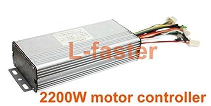 Amazon com : L-faster 60V 2200W BLDC motor controller