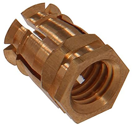 The Hillman Group 59844 Brass Spreading Dowel 9MM 15-Pack