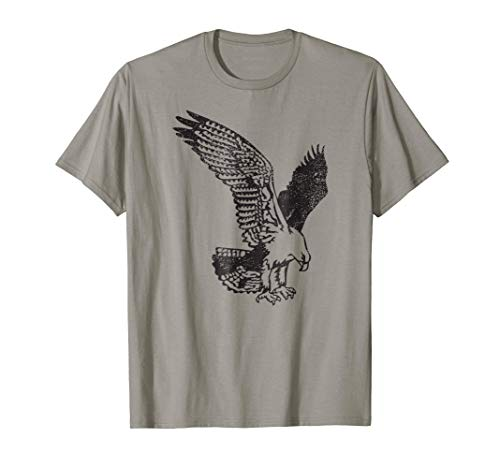 (Mintage Distressed Eagles Mascot T-Shirt)