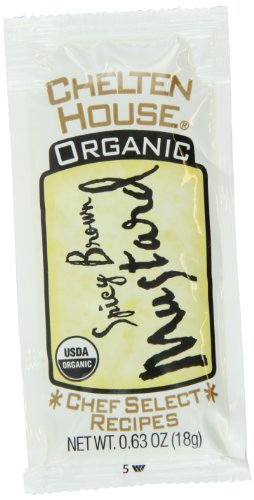 Chelten House Single Serve Portion Packs, Mustard, 0.63 Ounce (Pack of 250) by Chelten House
