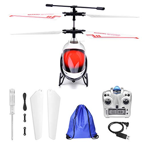 Remote Control Helicopter for Kids with Gyro -3.5 Channel with Storage Bag