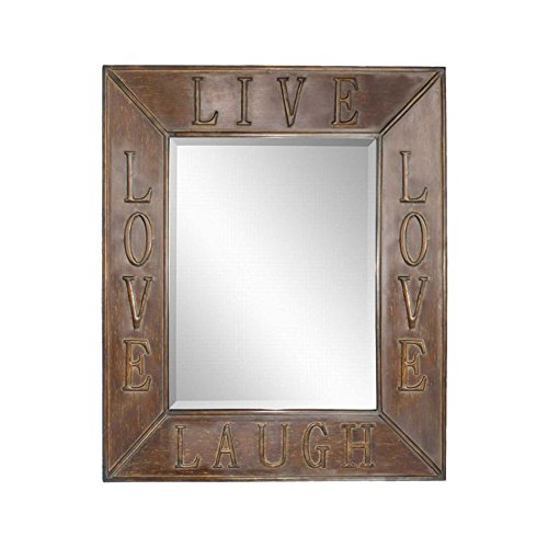 Uttermost Live Laugh Love Mirrors, Set/2 by Uttermost