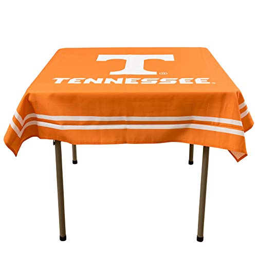 (College Flags and Banners Co. Tennessee Volunteers Logo Tablecloth or Table Overlay)