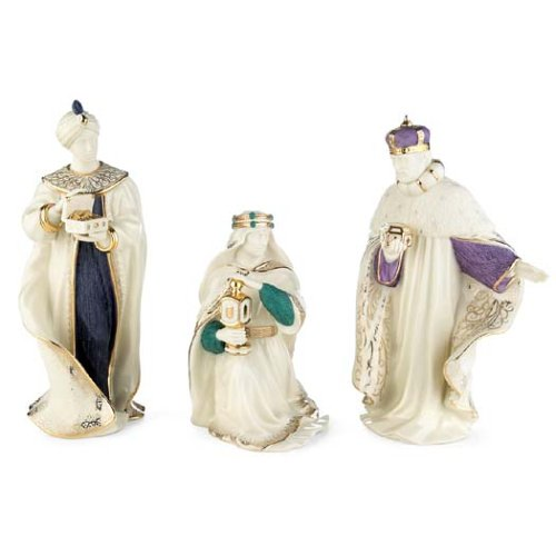 Lenox 6399943 First Blessing Nativity Three Kings Figurine Set