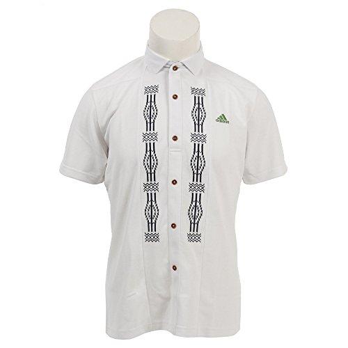 アディダス Adidas 半袖シャツ?ポロシャツ エンブロイダリー 半袖ポロシャツ