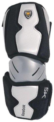 Reebok Lacrosse Protector 5K Elbow Guard (Black, Small)