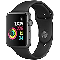 New Apple Watch Series 1 38mm Smartwatch (Space Gray...