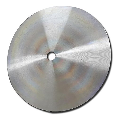 Kent 8 inch Aluminium Master Base Plate For Diamond Flat Lap Wheels by Kent Blades