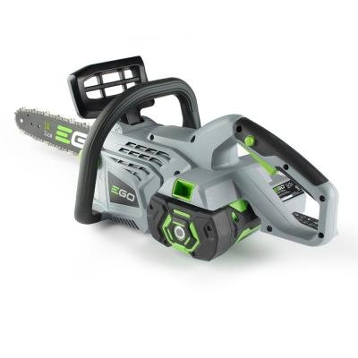 Cordless Electric Chainsaw Lithium Powered Beauty- This Lightweight Potable Model From Ego Will Make Quick Work Of Your Cutting And Chopping Branches and Firewood- Brushless Long Life Motor- Best Buy by Ego 14' Electric