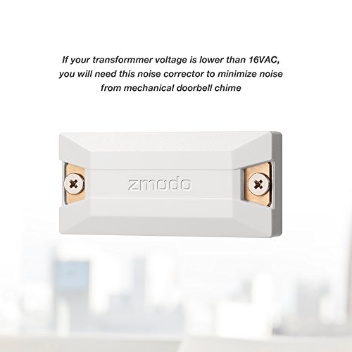 Zmodo Greet Wifi Video Doorbell With Zmodo Beam Smart Home Hub And