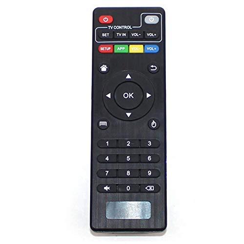 Toogoo Black Plastic Remote Controller for MXQ PRO M8S V88/T95X/T9 Android 4.4 Smart TV Box for KODI IPTV Black Wireless TV Box