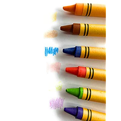 Jot Crayons With Built-In Sharpener Non-Toxic, 48 Count: Toys & Games