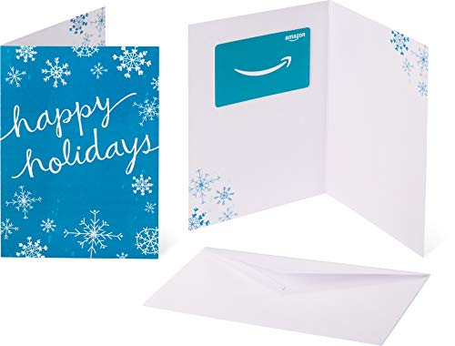 Amazon.com Gift Card in a Greeting Card -  Holiday Snowflakes Design