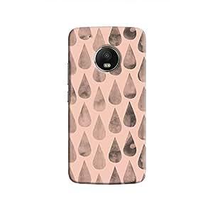 Cover It Up - Pink Dark Drops Moto G5 Plus Hard case