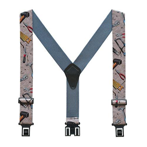 Handyman Carpenter Suspenders by Perry (Regular) by Perry Suspenders