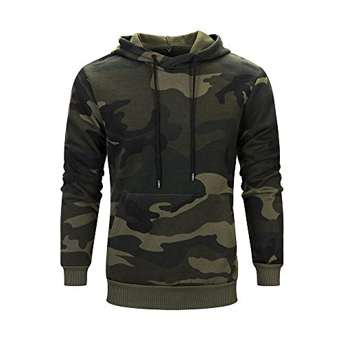 Boomboom Mens Winter Clothes, Mens Casual Hooded Sweatshirt Tops Jacket