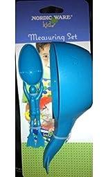 Nordic Ware Kids Measuring Set, 2 Pc Set. Measuring Cup and Measuring Spoon.