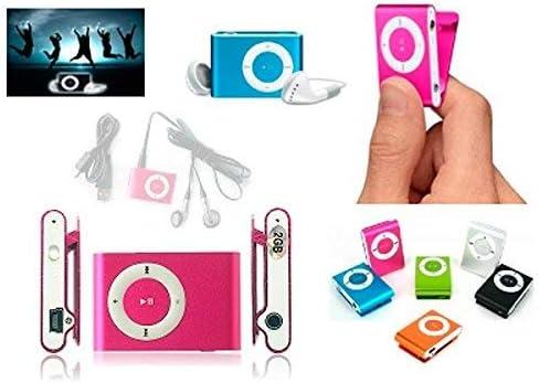 Lote de 24 Mp3 Player Clip + Auriculares + Cable Usb En Caja - Reproductores MP3 Baratos Originales. Detalles, Regalos Y recuerdos para Comuniones, Bodas y Bautizos niños y Adultos