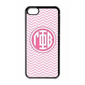 Gamma Phi Beta Chevron iPhone 5c Cell Phone Case Black DIY GIFT pp001_8012826